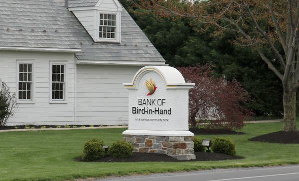 BIH Bank Sign along the road